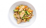 Chicken with Tossed Almonds