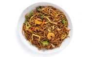 Singapore Noodles with Curry Sauce