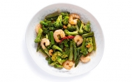 Shrimp with Asparagus and Cashew