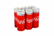 6 pcs Coca-Cola Light